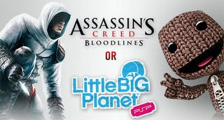 Illustration for article titled New PSPgo Owners Get Assassin's Creed or LittleBigPlanet Free*