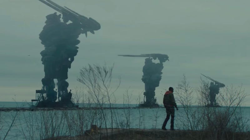No, it's not a Shadow of the Colossus movie. It's Captive State.