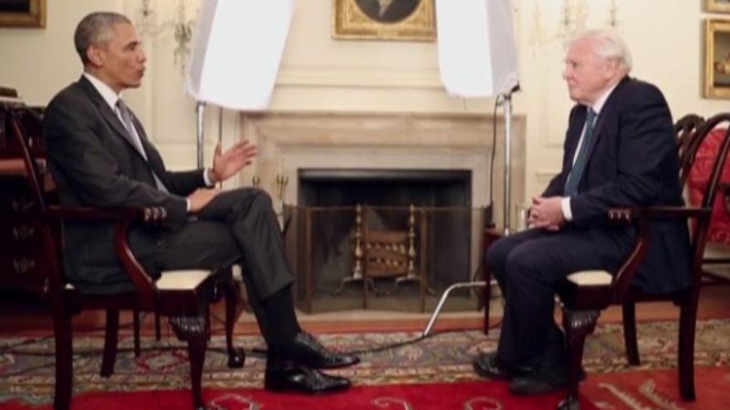 Illustration for article titled President Obama interviews somebody else for a change
