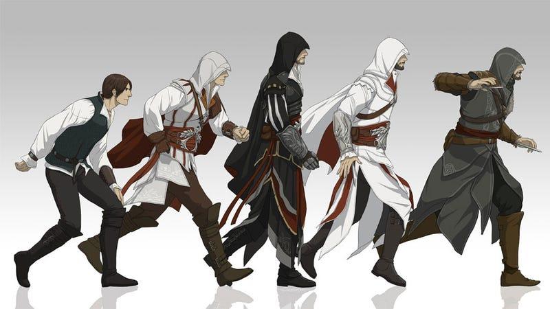 the evolution of assassin s creed s ezio auditore da firenze