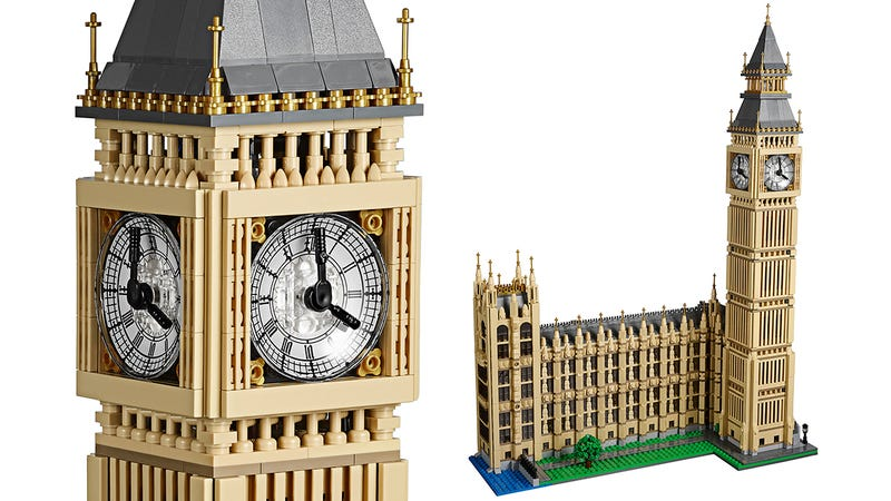 Illustration for article titled Lego's Next Architectural Masterpiece Is a Two-Feet-Tall Replica of Big Ben
