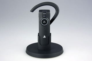 Illustration for article titled Sony Unveils PS3 Wireless Bluetooth Headset