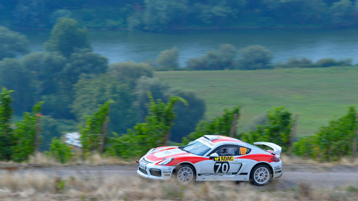 Making A Cayman Into A Rally Car Is The Best Thing Porsche Has Done