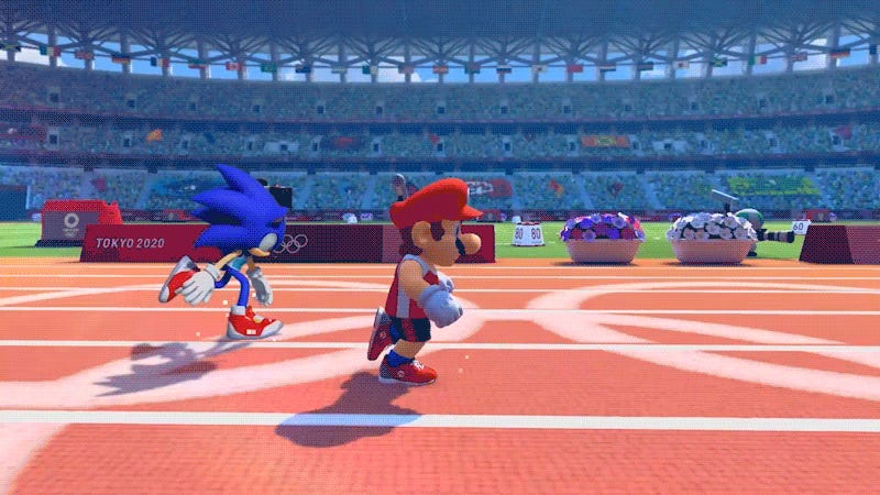 The New Mario & Sonic Olympics Game Lets You Play As 2D Characters