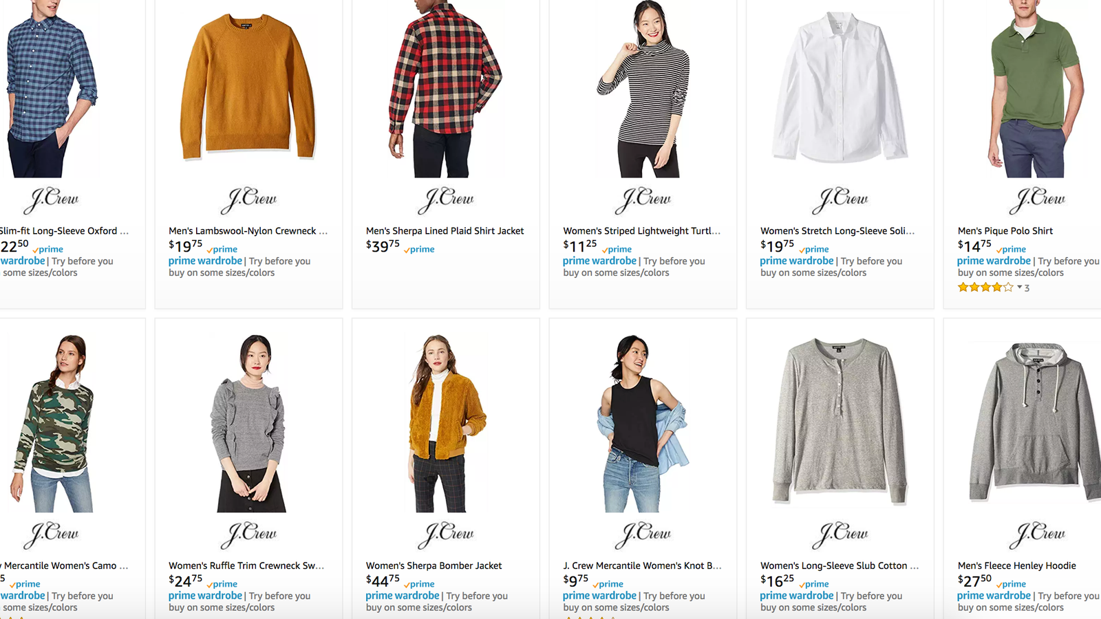 0fad07deefa0 J.Crew Is Up to 50% Off on Amazon Today (Yes