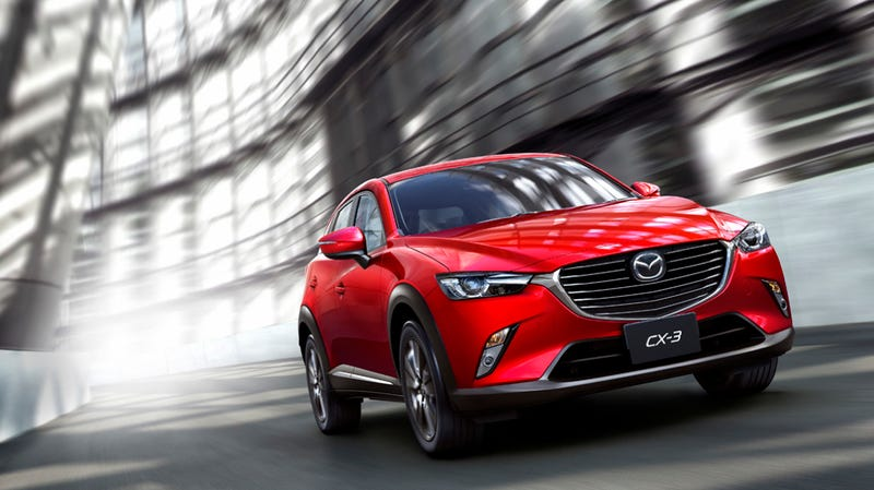 Illustration for article titled ​The 2016 Mazda CX-3 Is A Juke Alternative For The Freak-Averse