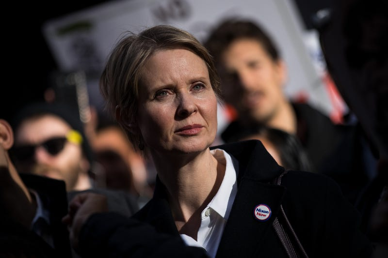 Illustration for article titled Cynthia Nixon Catches Heat for Calling Cannabis Licenses in Black Community a 'Form of Reparations'