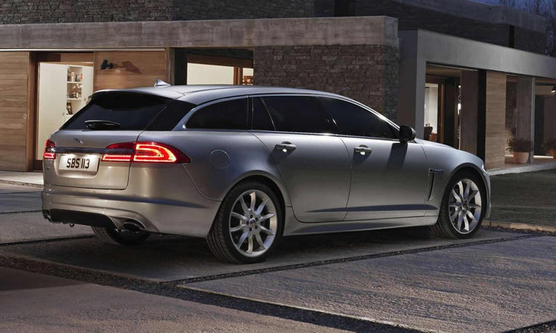 Illustration for article titled The Jaguar XF Sportbrake Is One Big Pussy