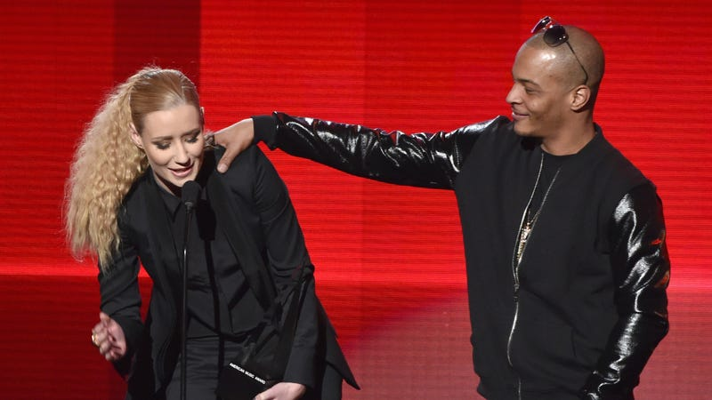 Illustration for article titled T.I. Confirms That Iggy Azalea Is Still His 'Partner,' Aww