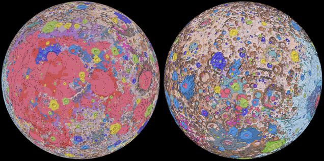 Incredible New Map of Moon Shows Its Every Nook and Cranny