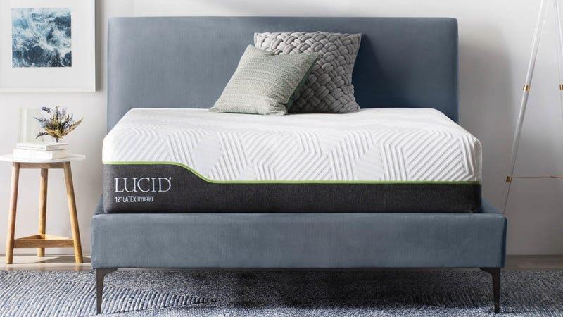 LUCID Hybrid Mattress sale   Amazon