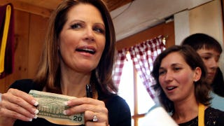 Illustration for article titled Confirmed: Michele Bachmann Is A Broke-Ass Fool