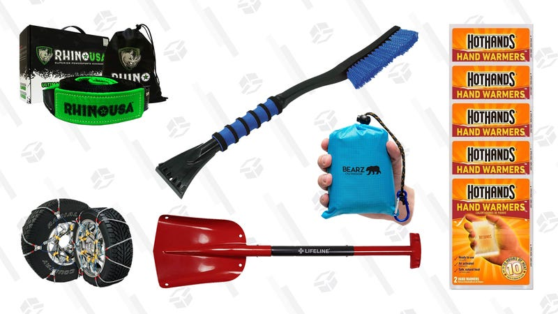 Illustration for article titled Put These Items In Your Car Now, Before the Snow Gets Bad