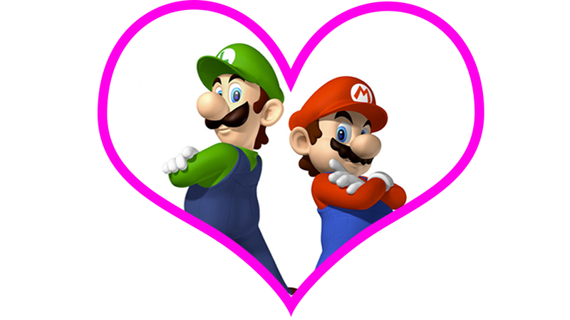 Illustration for article titled A Bunch of People Got Tricked Into Thinking Mario & Luigi Are Gay. Um.