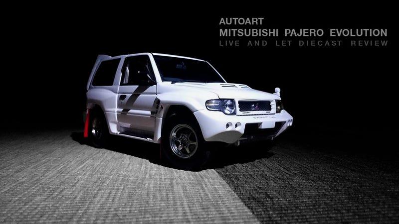 Illustration for article titled Autoart Mitsubishi Pajero Evolution: Review