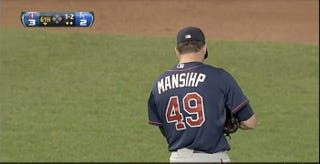 Illustration for article titled The Twins Couldn't Even Give Jeff Manship A Jersey With His Name Spelled Correctly