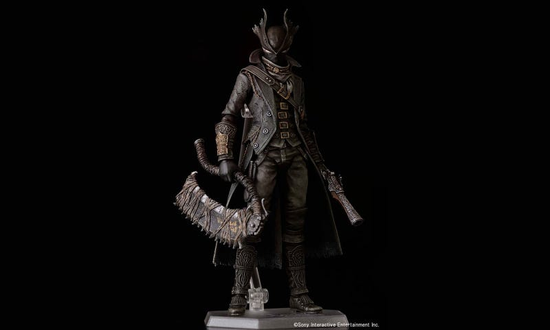 Illustration for article titled Look At This Bloodborne Action Figure