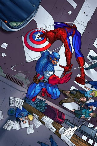 Illustration for article titled Amazing Spider-Man 2 will lead into Avengers 2 / Civil War adaptation!