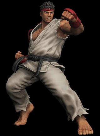 Illustration for article titled Ryu Stands A Mighty 18 Inches Tall
