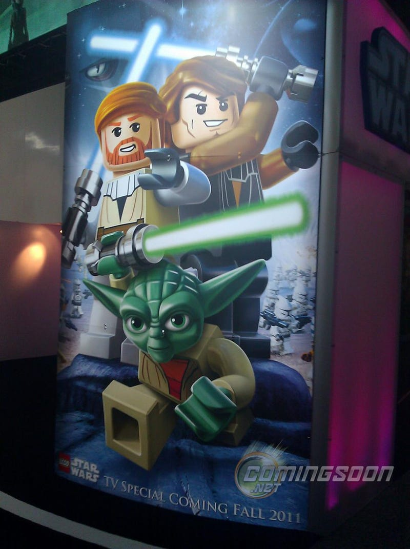 Illustration for article titled LEGO Star Wars Animated Special Poster