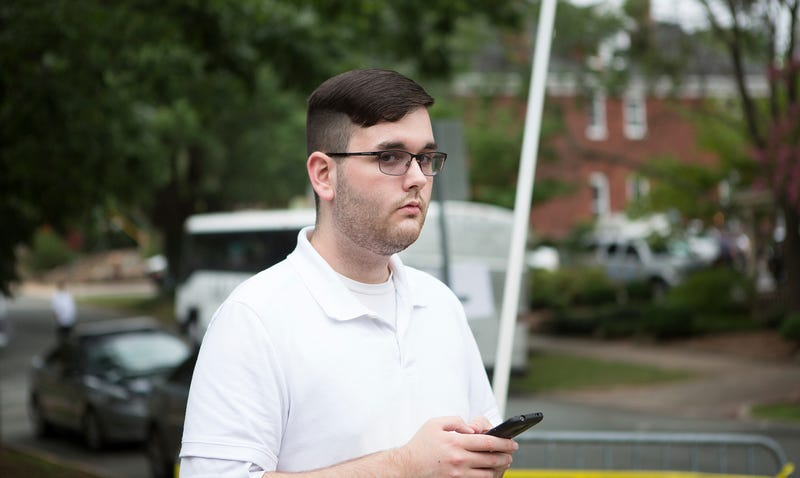 Illustration for article titled Man Accused of Deadly Charlottesville Car Attack Charged With Federal Hate Crimes