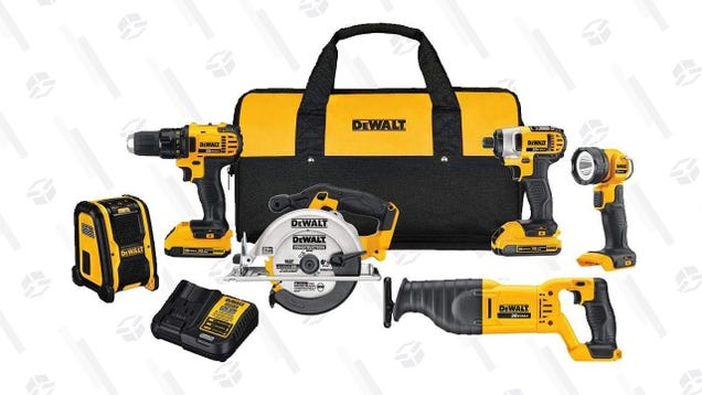 Give Your Favorite DIY Enthusiast (or Yourself) This DEWALT Combo Kit For the Best Price Ever