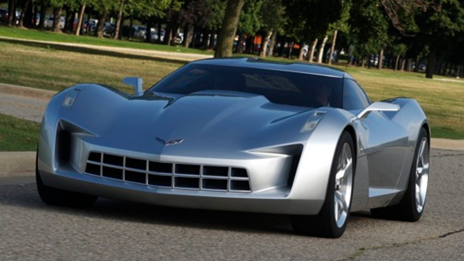 Stingray Concept: Transformers Corvette A High-Tech Hybrid ...