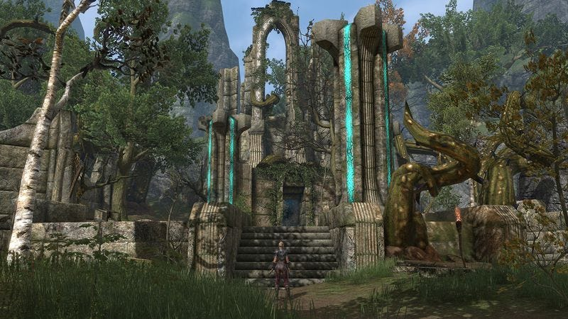 The Elder Scrolls Online is a big sandbox to explore, but