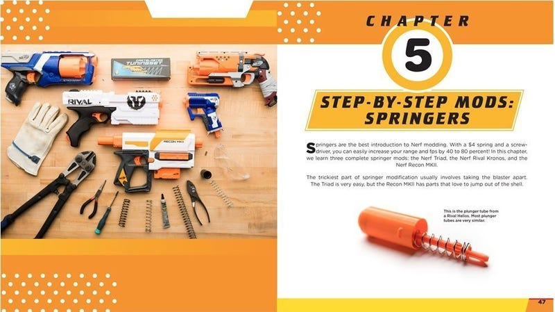 Preorder The Nerf Blaster Modification Guide | $13 | Amazon