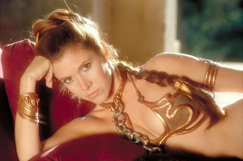 Illustration for article titled You Can Own Princess Leia's Actual Metal Bikini From Return of the Jedi