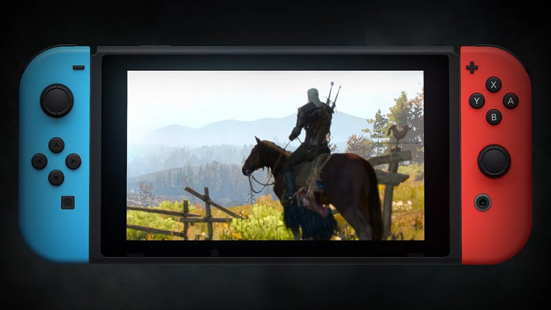 The Witcher 3 On Switch Runs 720p Docked, 540p Handheld