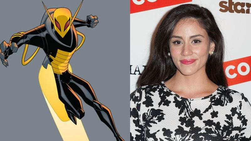(Image of Firefly: The Batman series; Photo of Michelle Veintimilla: Getty Images)
