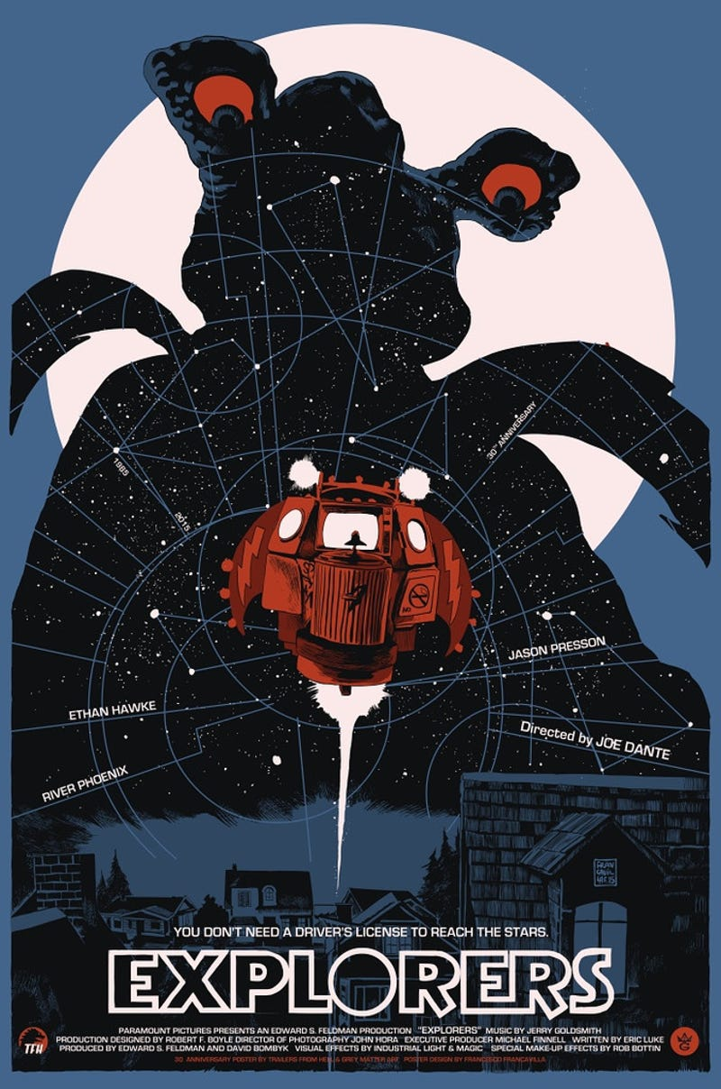Celebrate The 30th Anniversary Of Explorers With This Nifty Poster