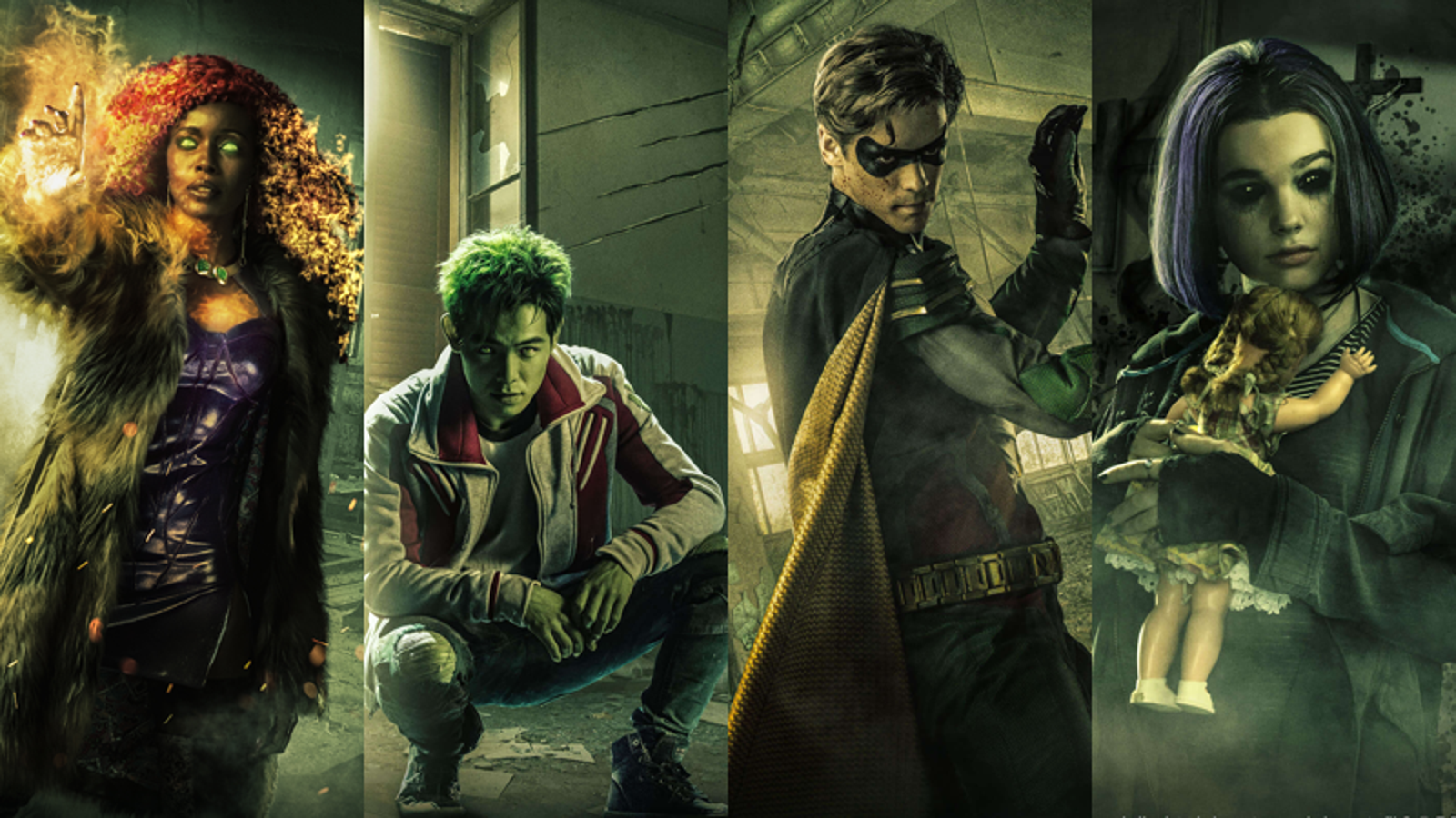Titans Movie 2019 Poster: DC Universe Streaming Starts September 15, Titans October 12