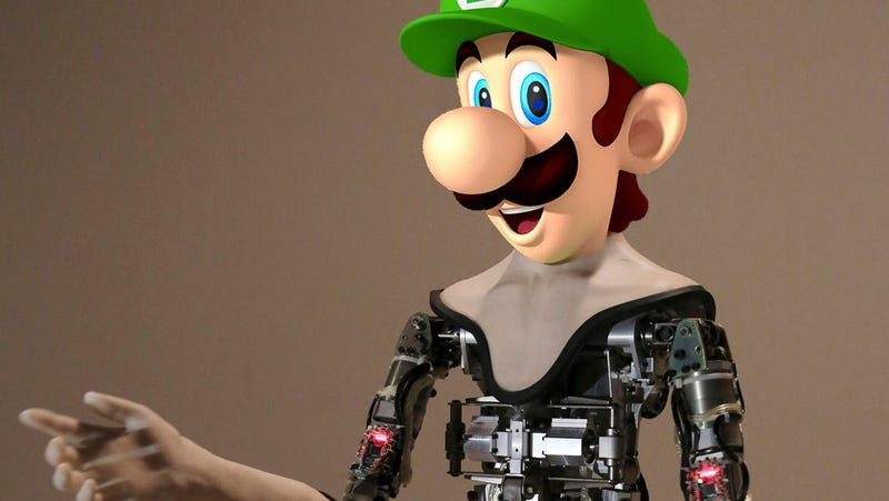 Illustration for article titled Just My Opinion: The Company Offering $130,000 for the Perfect Robot Face Should Choose Luigi