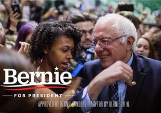 Bernie Sanders campaign adYouTube Screenshot