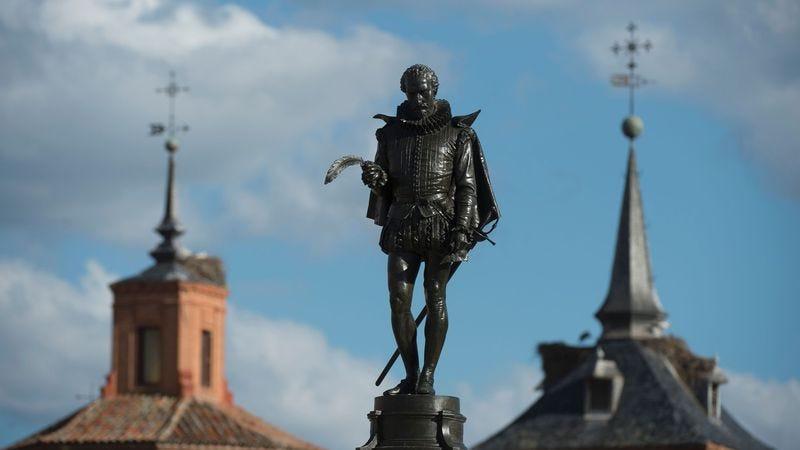 A statue of Miguel Cervantes (Photo: Curto De La Torre/Getty Images)