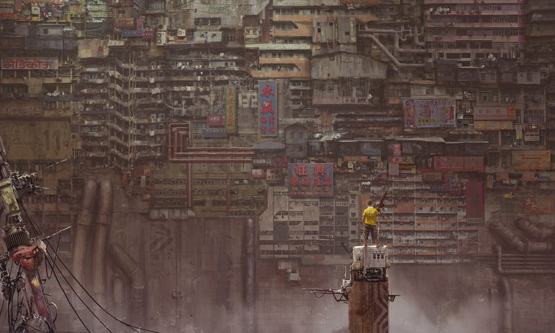 Illustration for article titled The New City Of Babel