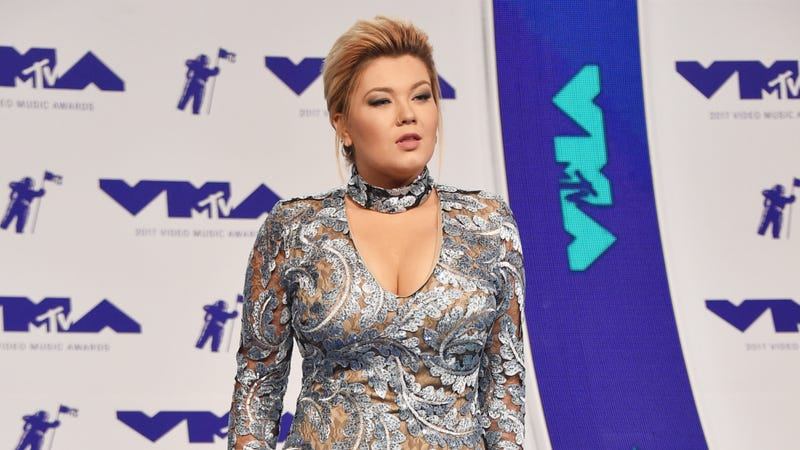Illustration for article titled Teen Mom's Amber Portwood Charged With Domestic Battery