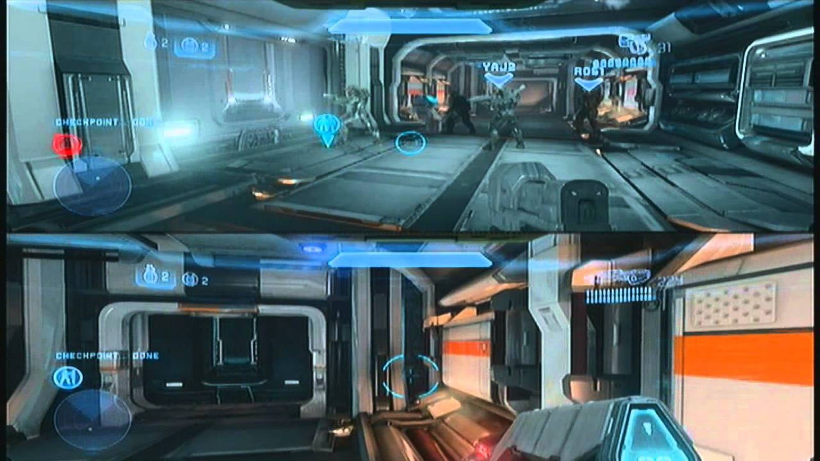 Halo 5 podzielony ekran