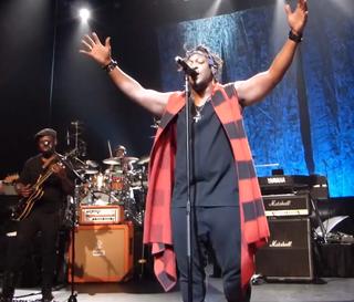 D'Angelo at Harlem's Apollo Theater Feb. 7, 2015YouTube screenshot