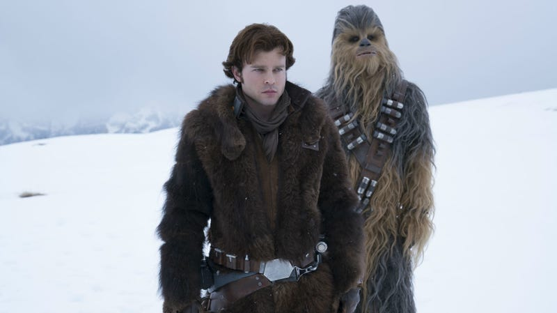 Han Solo and Chewbacca start their partnership in Solo: A Star Wars Story.