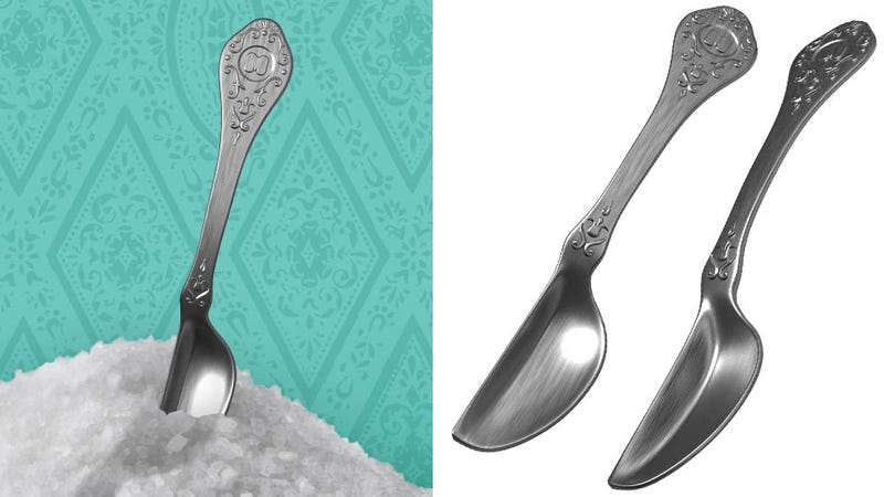 Illustration for article titled Is This a Half Spoon or Just a Small Spoon or Just Ridiculous?
