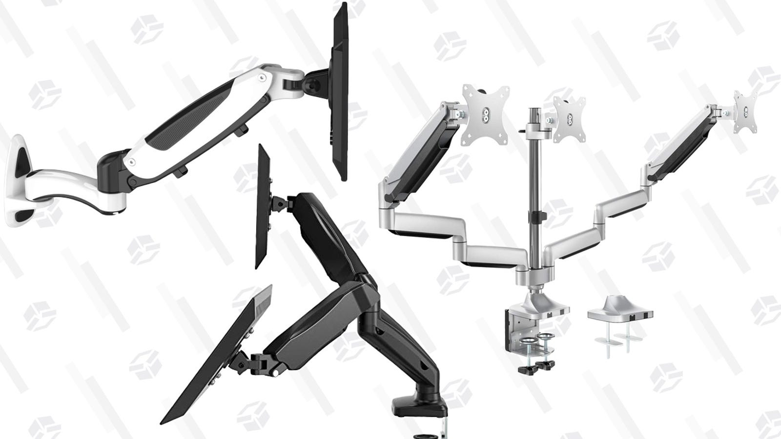 Upgrade Your Desk With An Affordable Monitor Arm (or Two or Three), Today Only