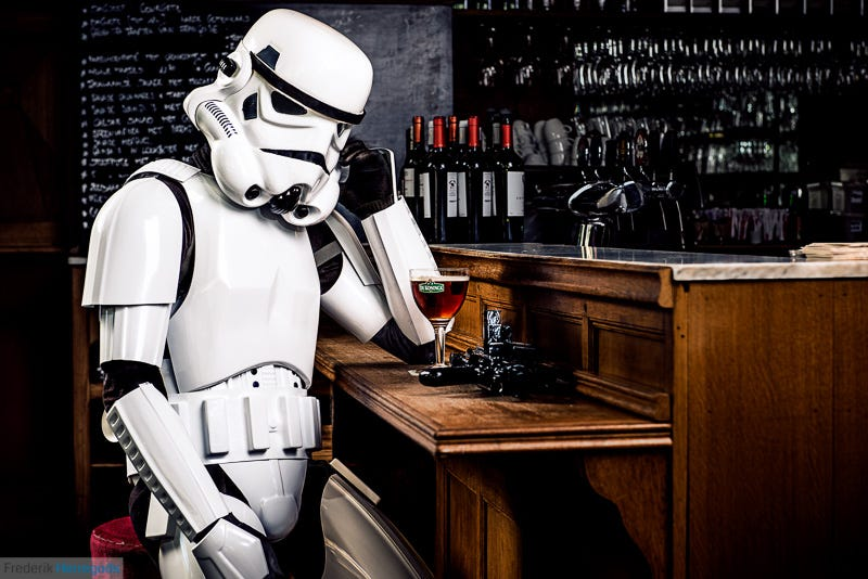 Illustration for article titled Lucasfilm Is Suing The Empire Brewing Company Over Its Bock Lager