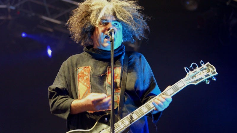 Buzz Osbourne, playing with The Melvins in 2003. Photo courtesy of Getty Images