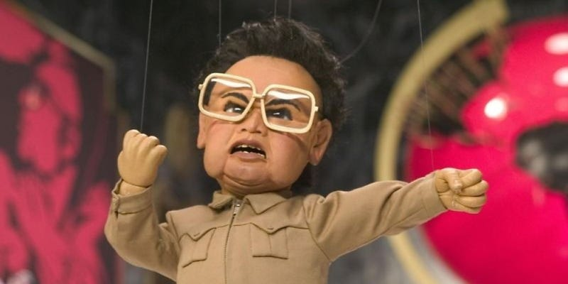 Illustration for article titled Kim Jong Il Had A Fan Club And They Really, Really Hated Team America