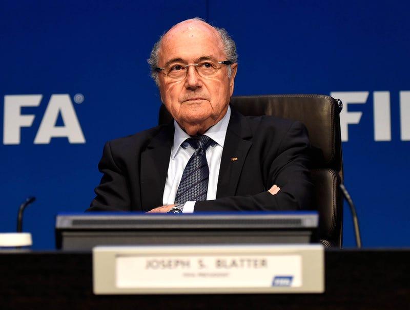Illustration for article titled FIFA Retires Sepp Blatter's Routing Number