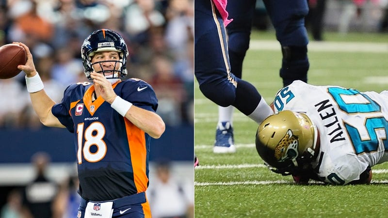 Illustration for article titled Jaguars-Broncos Opens With The Largest Point Spread In NFL History