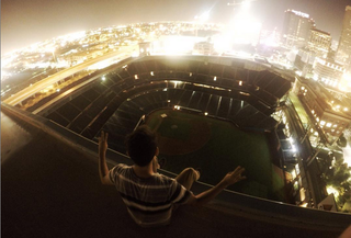 Illustration for article titled The View From The Top Of The Astros' Stadium Is Really Something